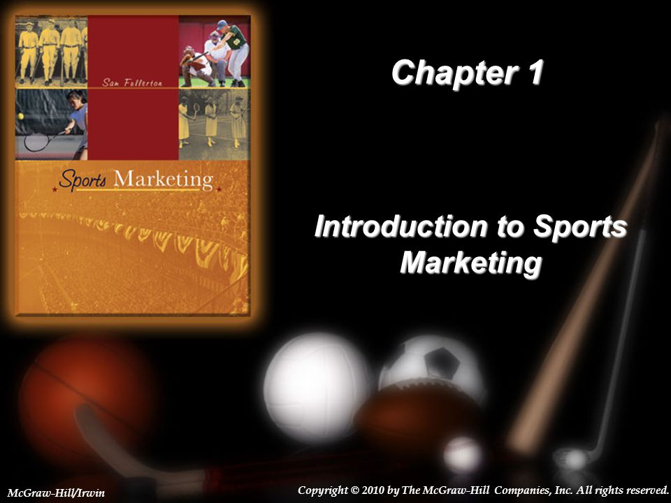 1-2 Broad Marketing Domains Primary Focus of Marketing Efforts –Marketing through Sports –Marketing of Sports