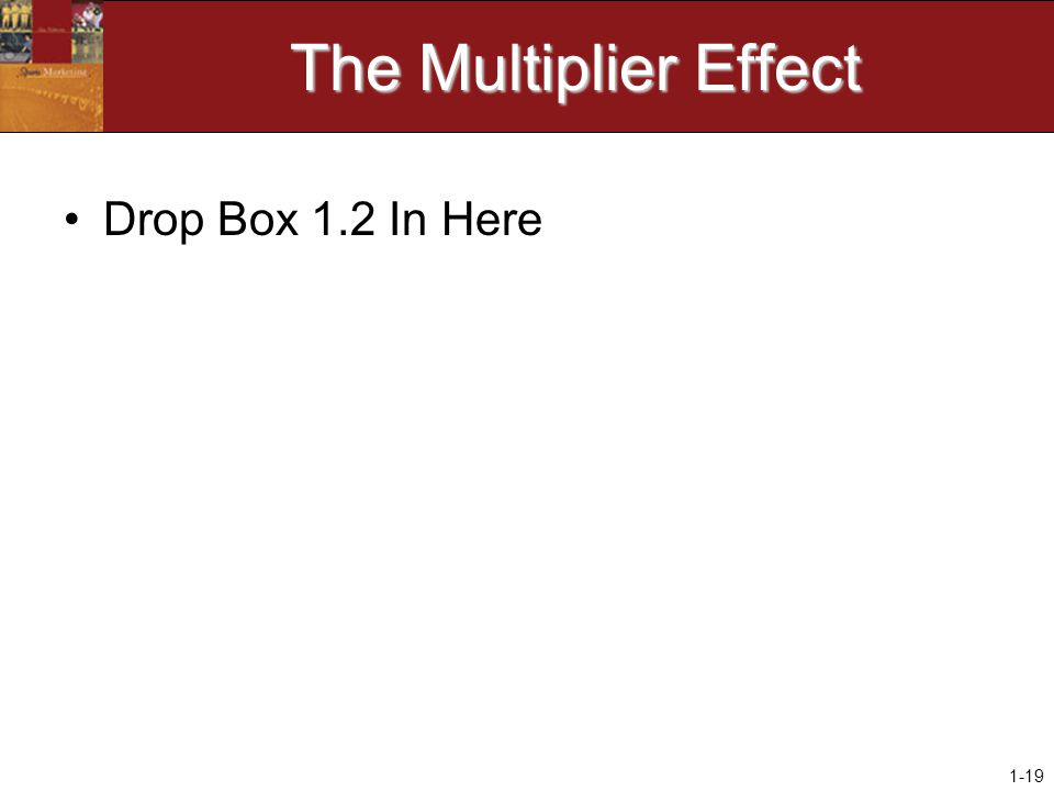 1-19 The Multiplier Effect Drop Box 1.2 In Here