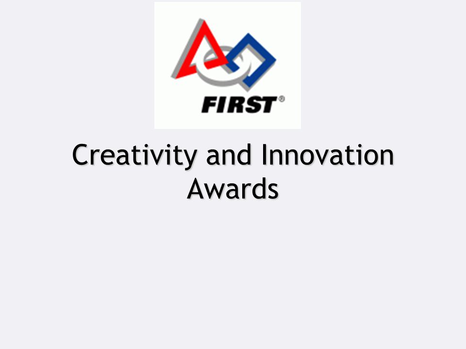 Creativity and Innovation Awards