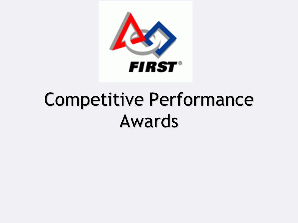 Competitive Performance Awards