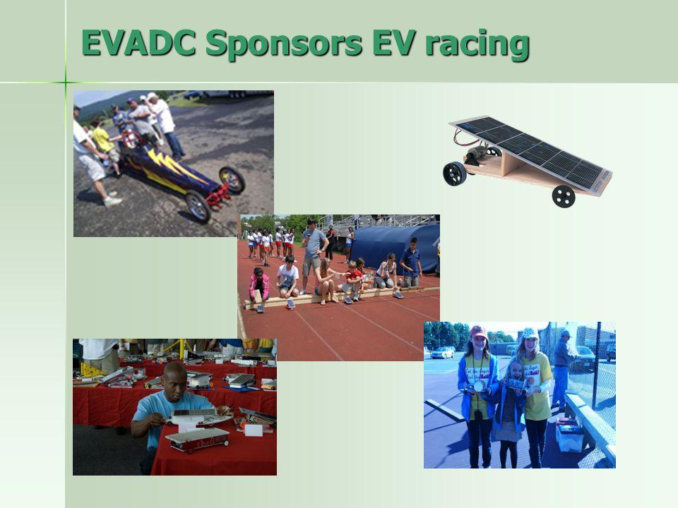 EVADC Sponsors EV racing