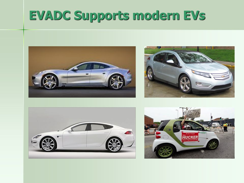 EVADC Supports modern EVs