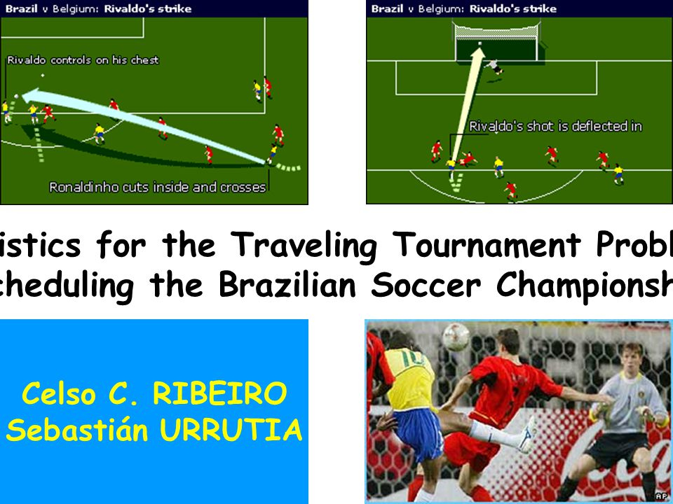 December 2003 Traveling tournament problem1/88 Heuristics for the Traveling Tournament Problem: Scheduling the Brazilian Soccer Championship Celso C.