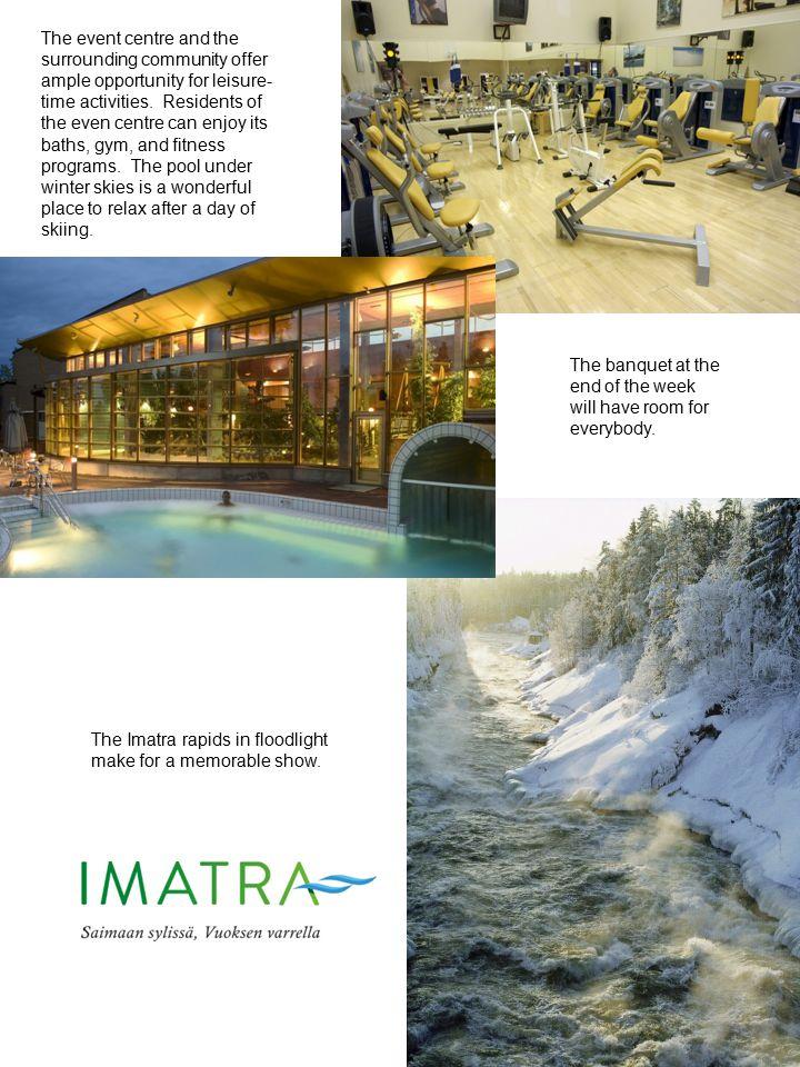 Travel to Imatra is easy.