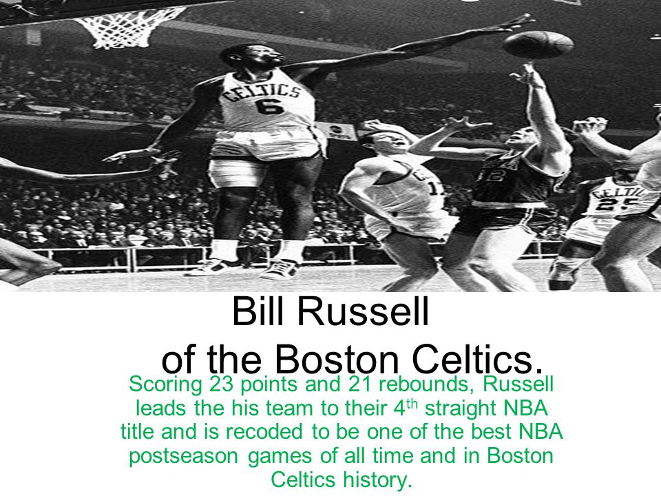 Bob Cousy Dishing out 19 assist and scoring 16 points vs.