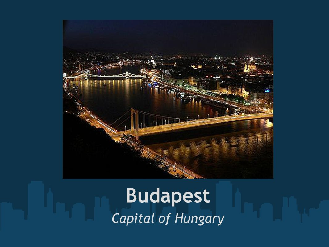 Budapest, is the largest city in Hungary with 1 733 655 inhabitants.