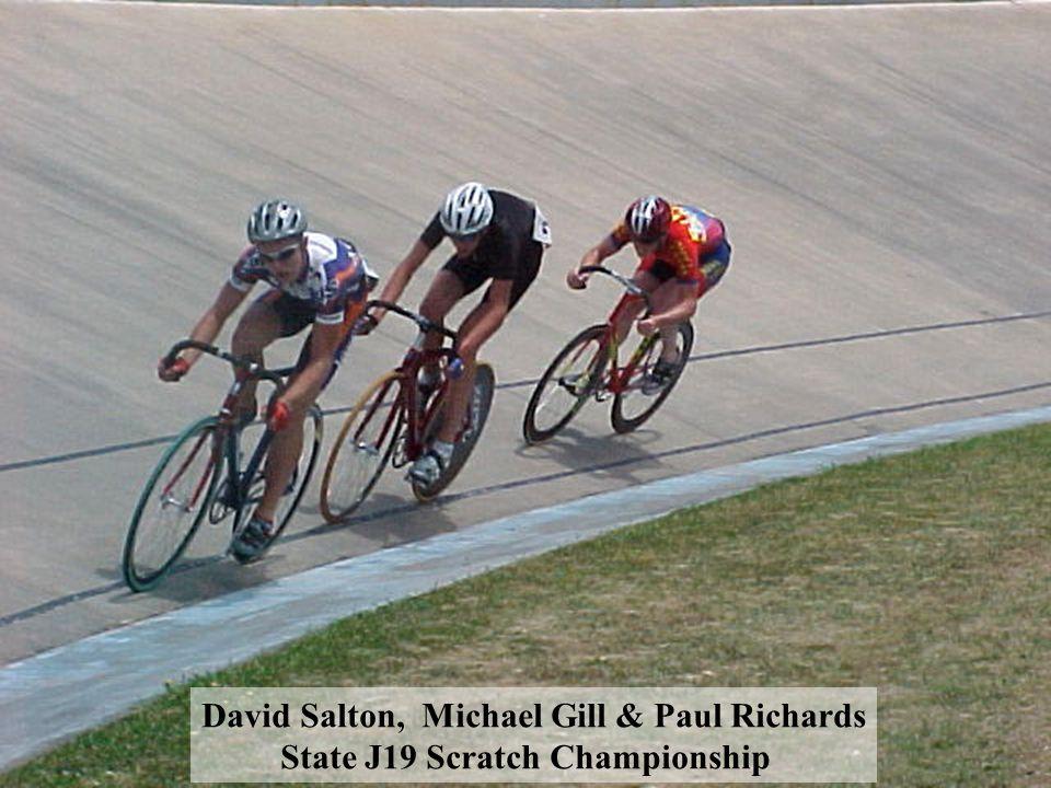 David Salton, Michael Gill & Paul Richards State J19 Scratch Championship