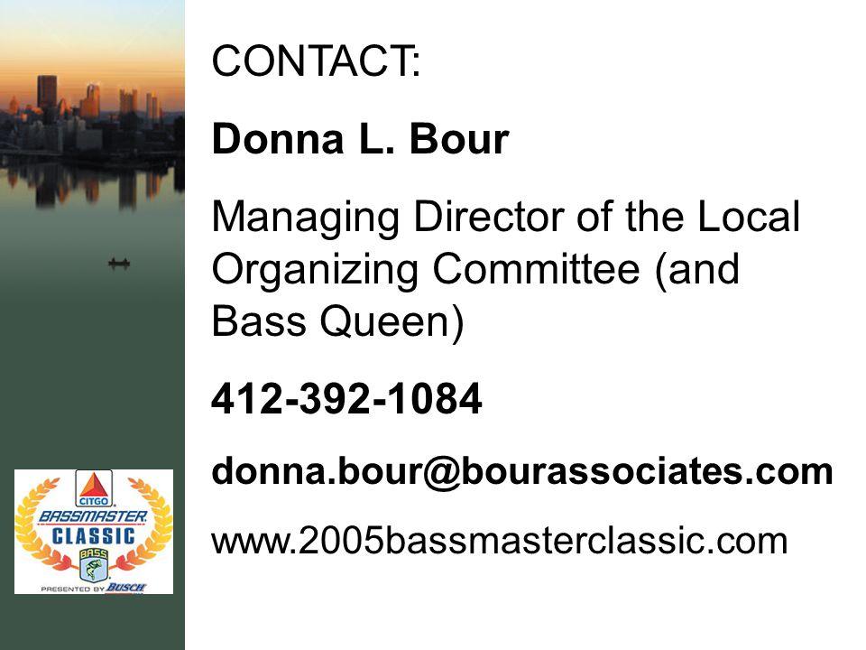 CONTACT: Donna L.