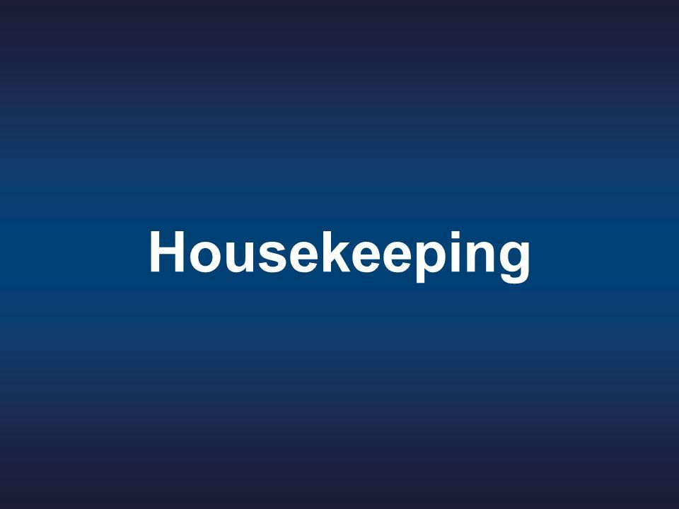 3 © 2011 Jennifer Christine C. Fajardo All Rights Reserved. Housekeeping