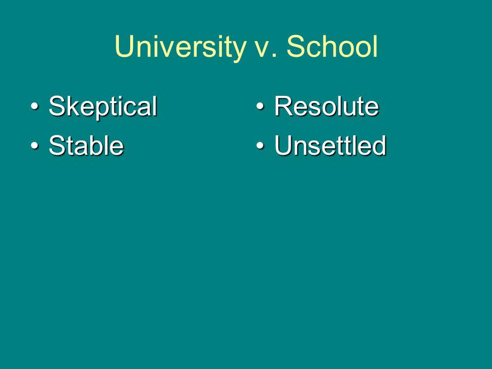 University v.