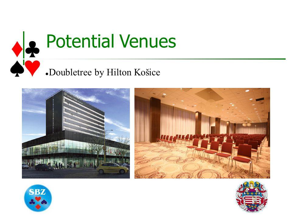 Potential Venues Doubletree by Hilton Košice