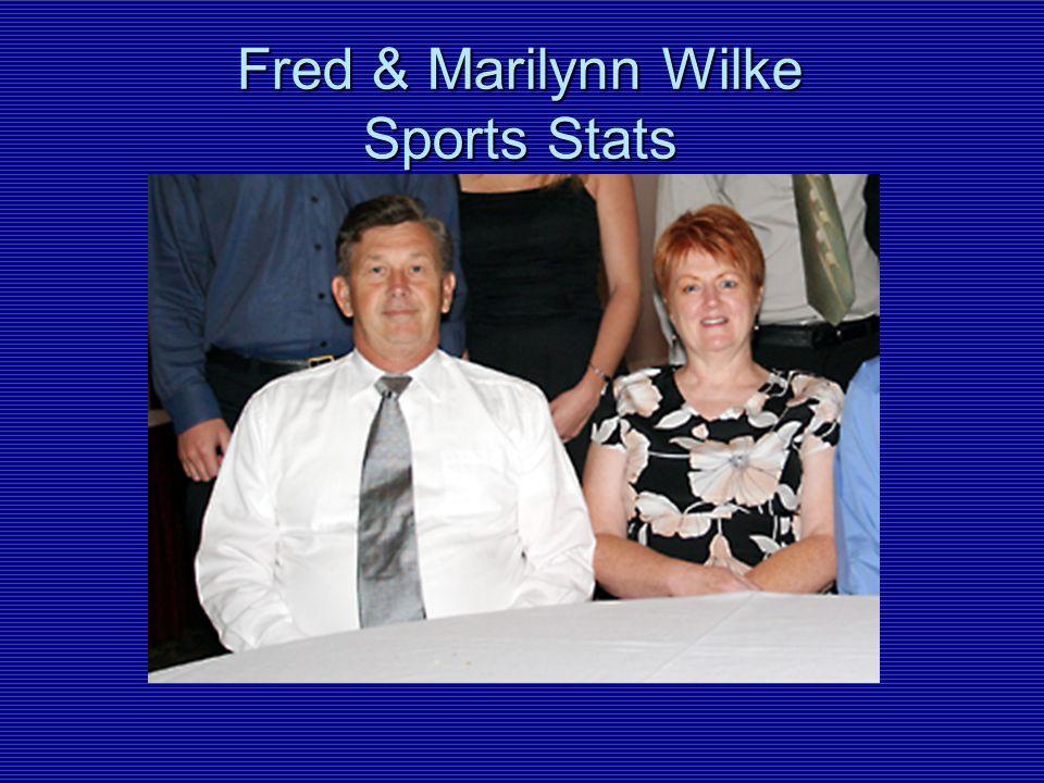 Fred & Marilynn Wilke Sports Stats