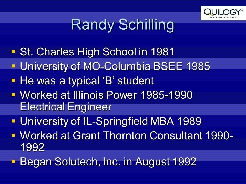 Randy Schilling  St.