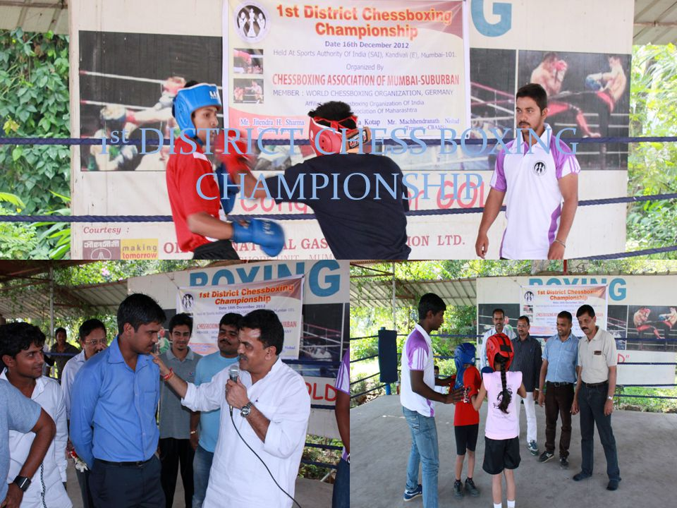 1 st DISTRICT CHESS BOXING CHAMPIONSHIP