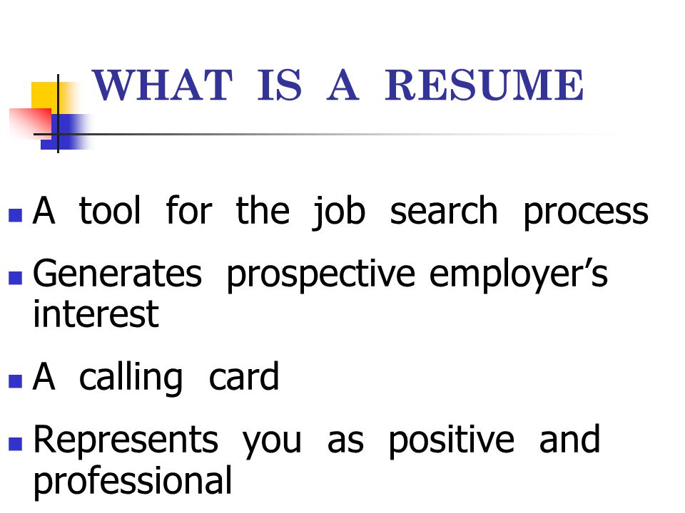 10 ELEMENTS OF GOOD RESUME Be honest, Don't exaggerate; Avoid abbreviations, slang, and trite expressions; Use high quality paper; Do not fold Use action words, strong verbs;