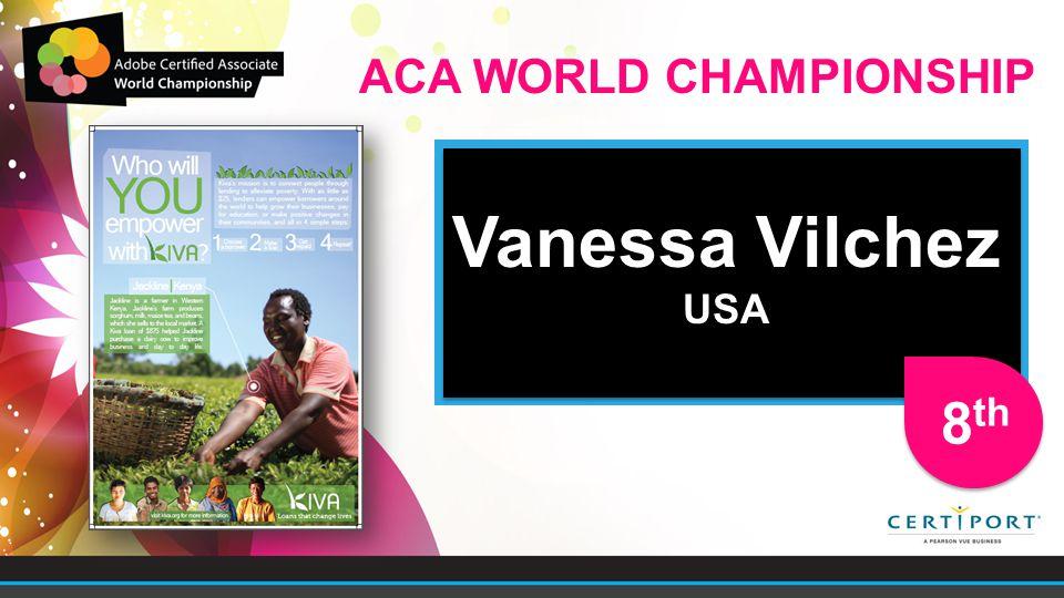 Vanessa Vilchez USA Vanessa Vilchez USA