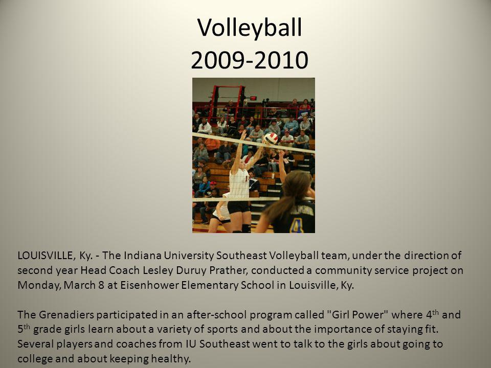 Softball 2009-2010 NEW ALBANY, Ind.