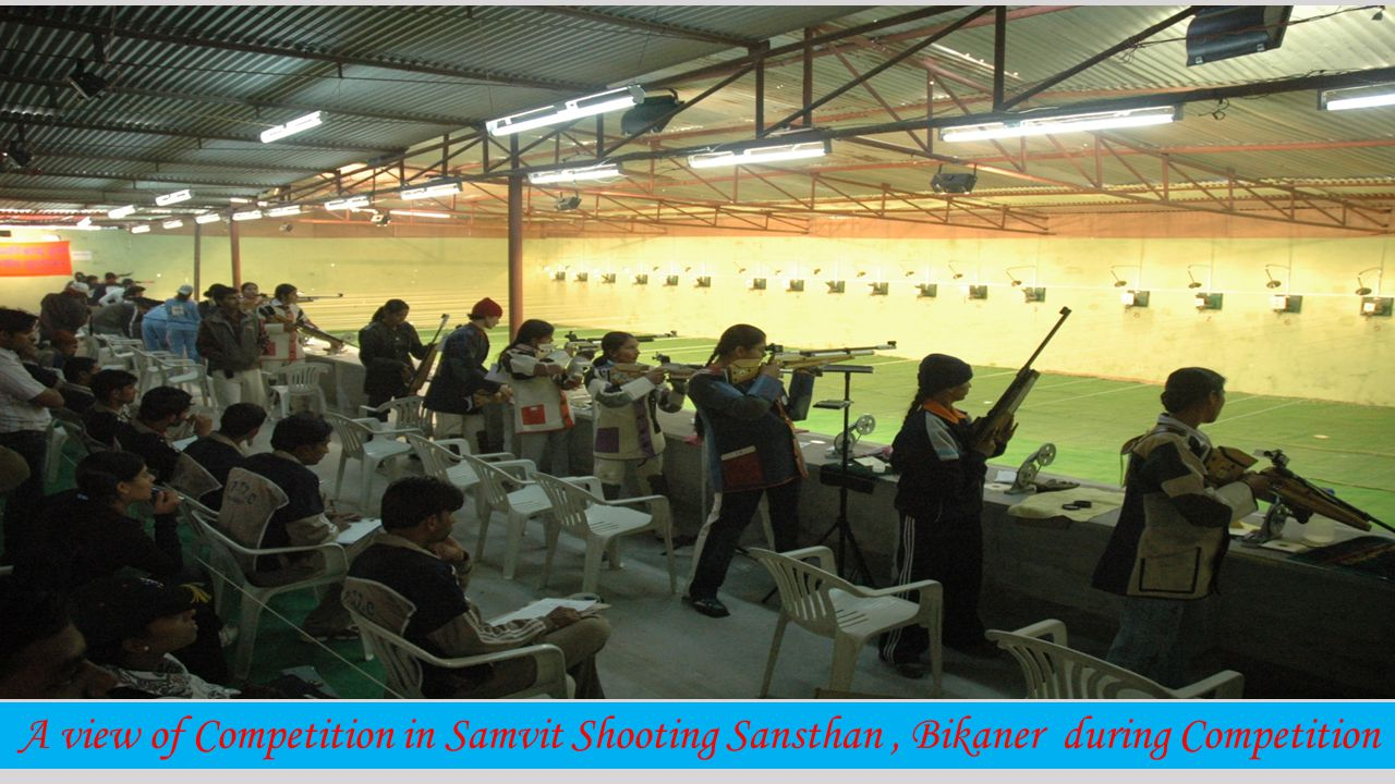 All India Inter University(Air piston and 0.177 mm peep site Air rifle) competition