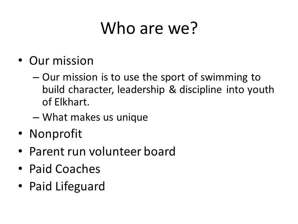 Checking the website http://www.elkswim.org/Home.jsp?team=inb wac http://www.elkswim.org/Home.jsp?team=inb wac You will receive an e-mail with instructions on how to enter the website You should check this every week Please sign up for text messages