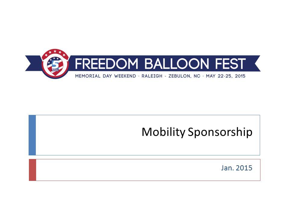 Mobility Sponsorship Jan. 2015