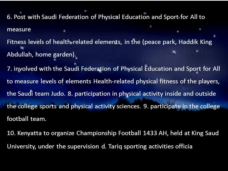 Achievements: Championship junior grade football in 1427 for Al Hilal.