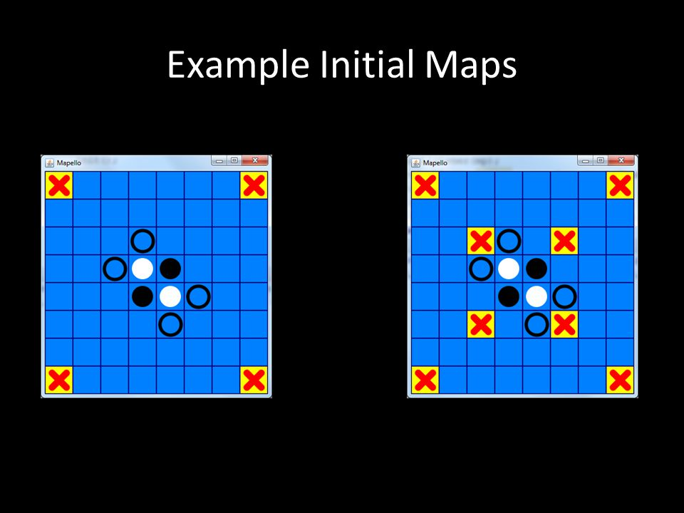 Example Initial Maps