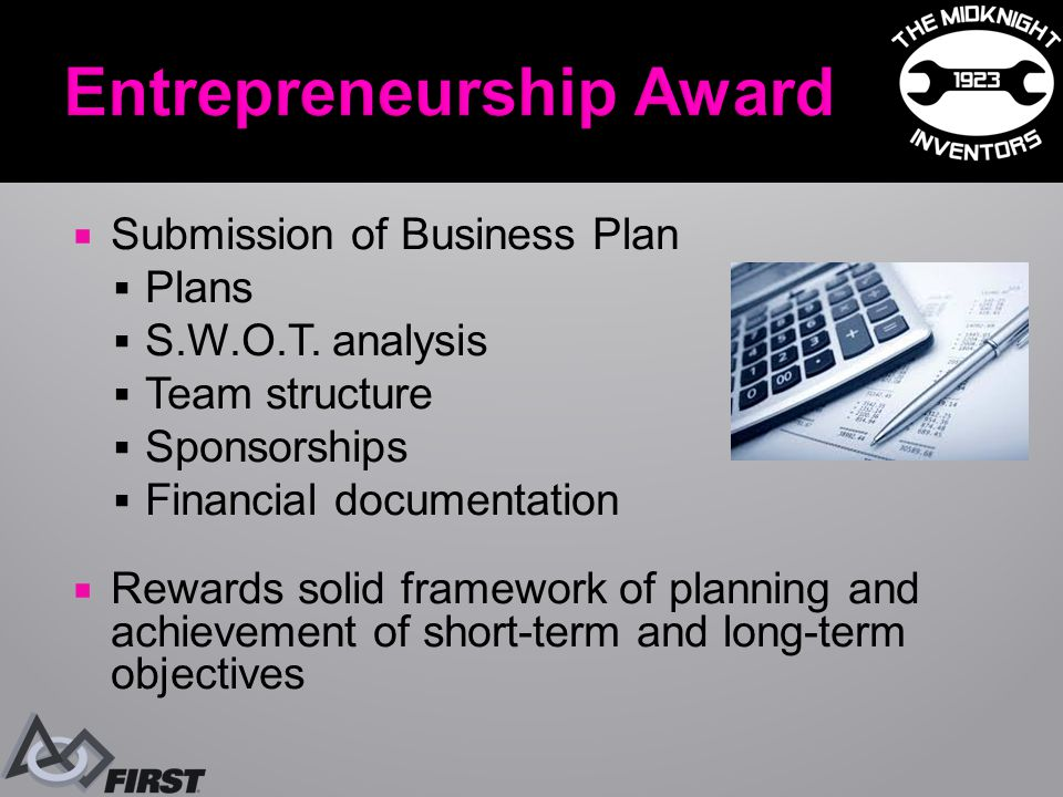  Submission of Business Plan  Plans  S.W.O.T.