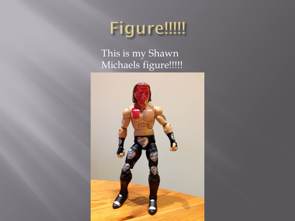 This is my Shawn Michaels figure!!!!!
