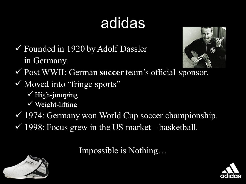 Fun Fact The creators of Adidas and Puma were brothers!!!