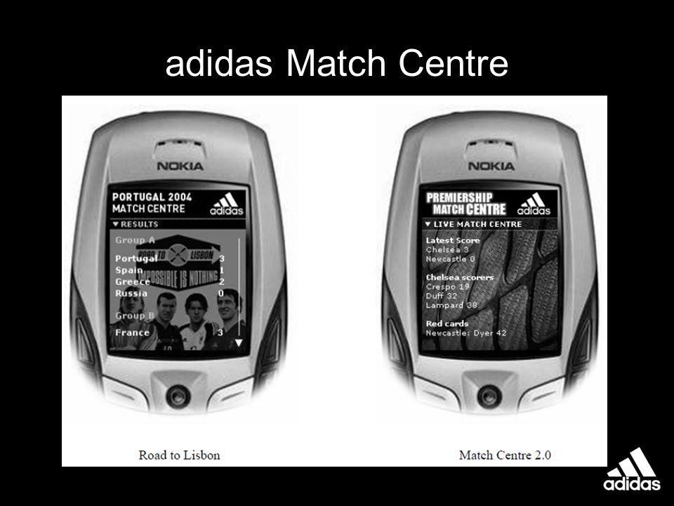 adidas Match Centre