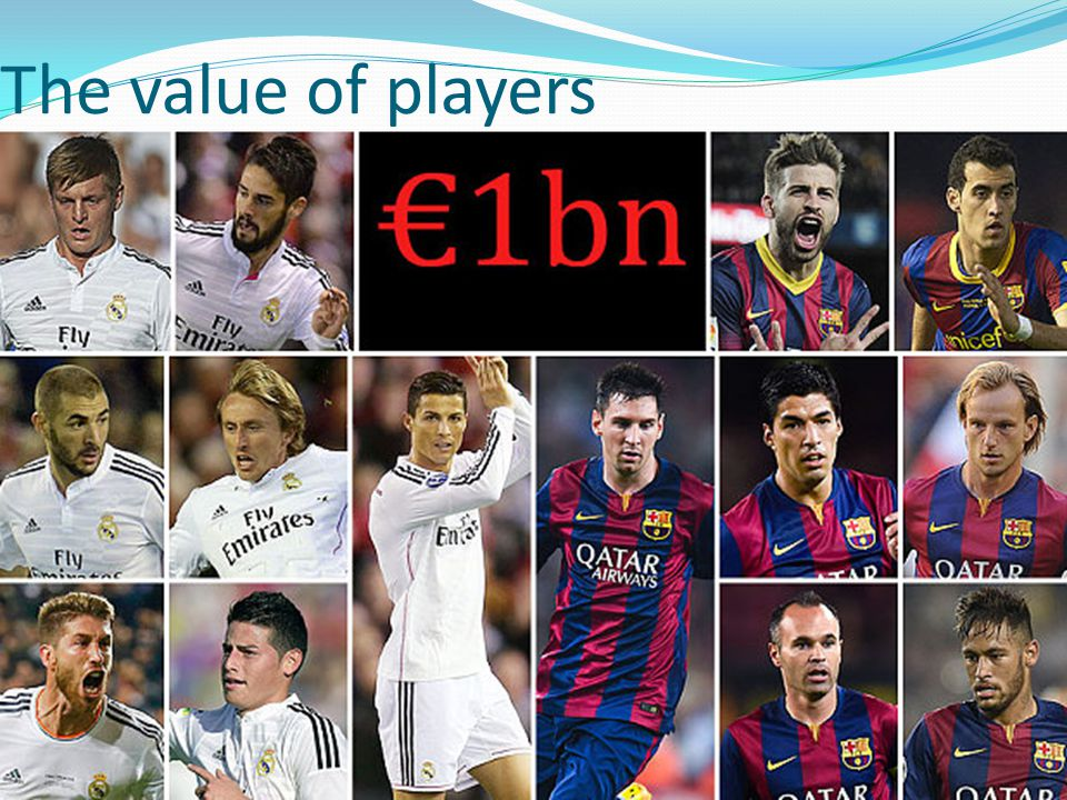 The value of players