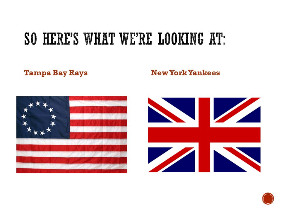 Tampa Bay RaysNew York Yankees