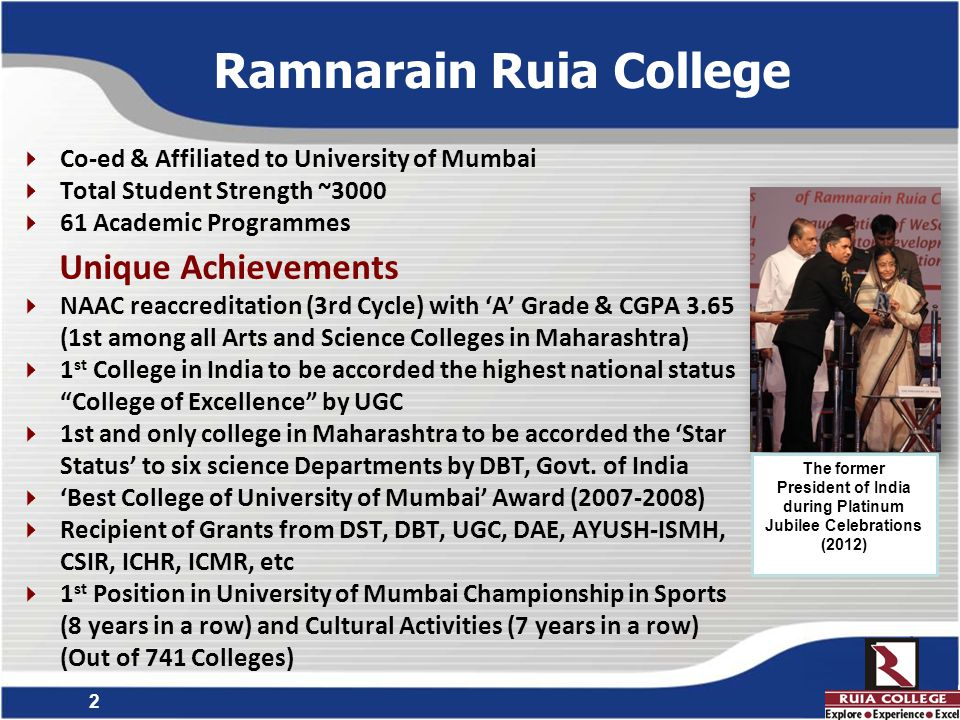 3 Skill Development Initiatives in Higher Education at Ramnarain Ruia College in building Knowledge, Skills and Competence