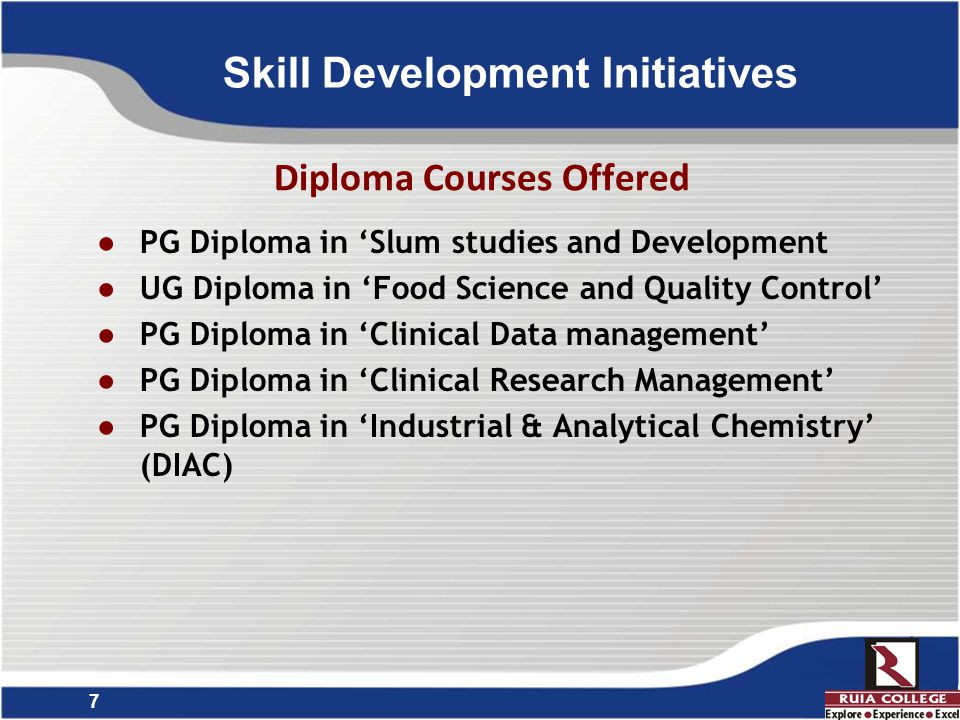 8 Language Skills  Establishment of 'Language Laboratory' (in 2014)  Establishment of 'Foreign Language Centre' (in 2006)  Certificate courses in o German o Japanese o Spanish o Chinese  Outcome  Every year about 200 students enroll for these courses.