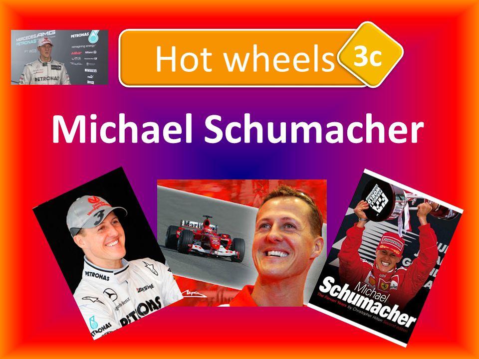 Michael Schumacher Hot wheels 3c