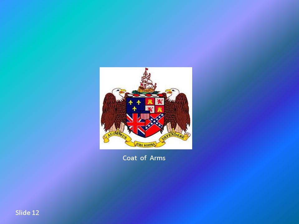 Coat of Arms Slide 12