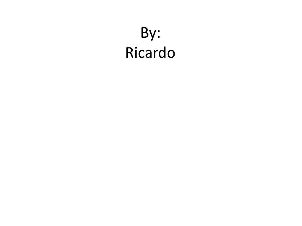 By: Ricardo