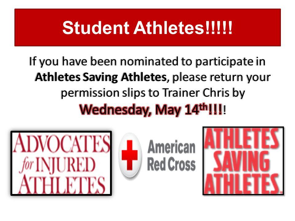 Student Athletes!!!!!