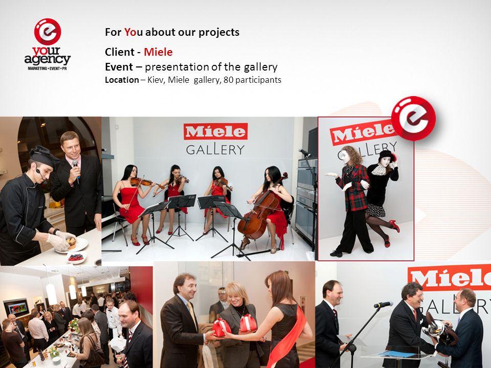 Client – Global Management Challenge Event – Graduate Ball 2009 Location – Kiev, Ukrainian House , 500 participants For You about our projects