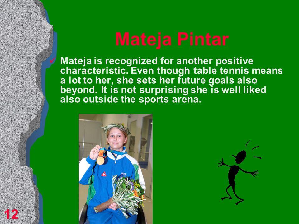 Mateja Pintar paralympic champion 11