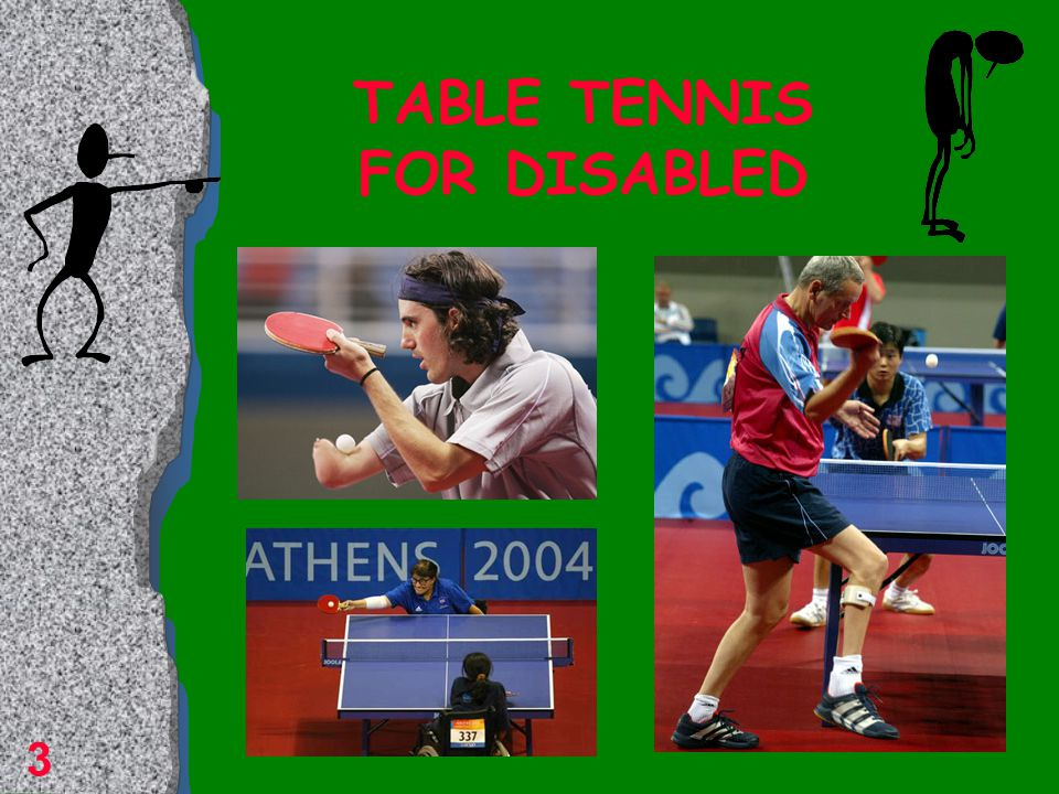 Table tennis Table tennis is one of the most played games in the world Table tennis is the fastest game in the world Due to injuries quote it is one of the safest games Table tennis is recommended as a rehabilitation sport 2