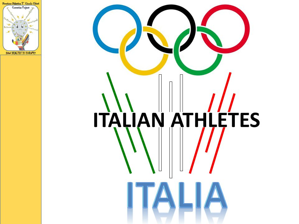 ITALIAN ATHLETES