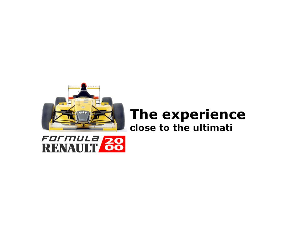 Formula 2000 Nordic Cup This will guide you through The experience The new Nordic race concept Prices and terms Fact about Formula Renault 2000 Race c