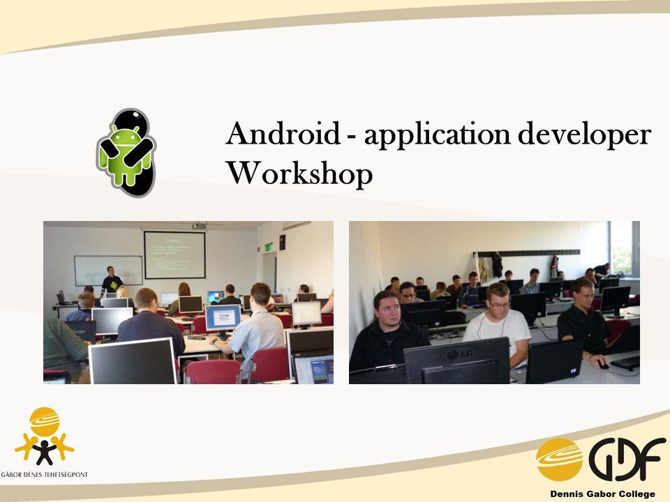 Android - application developer Workshop