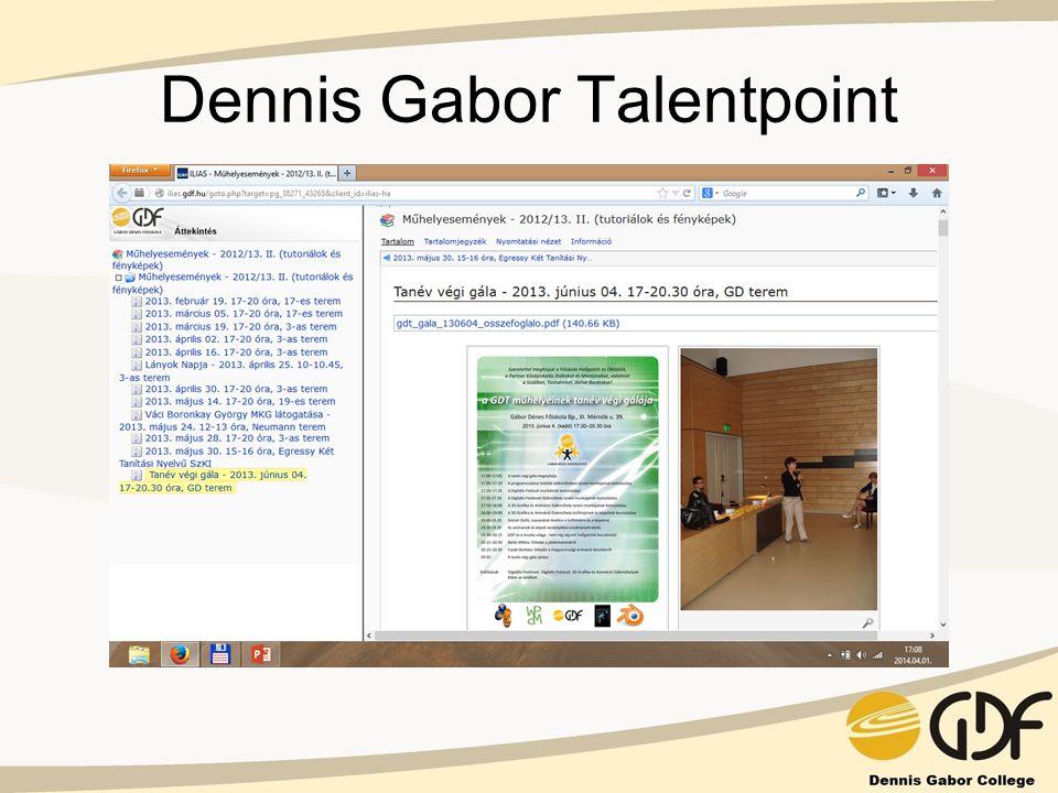 Dennis Gabor Talentpoint