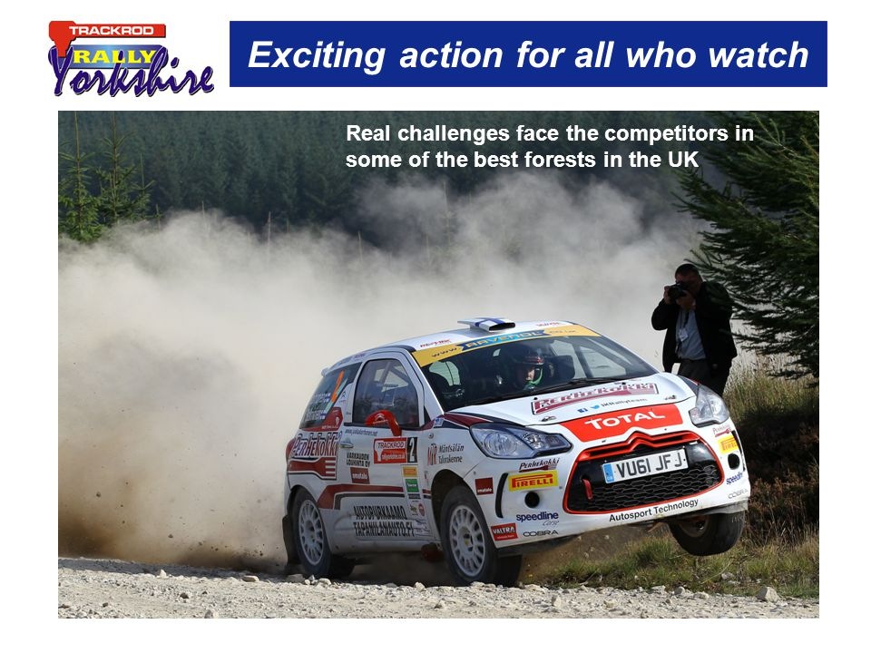 Exciting action for all who watch Real challenges face the competitors in some of the best forests in the UK