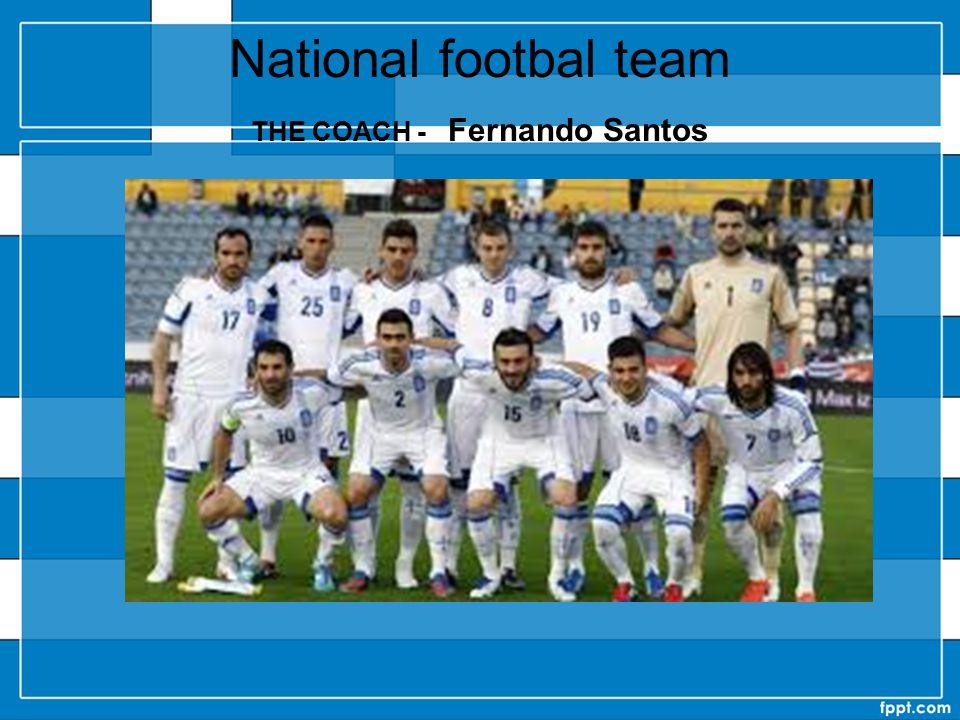 National footbal team THE COACH - Fernando Santos