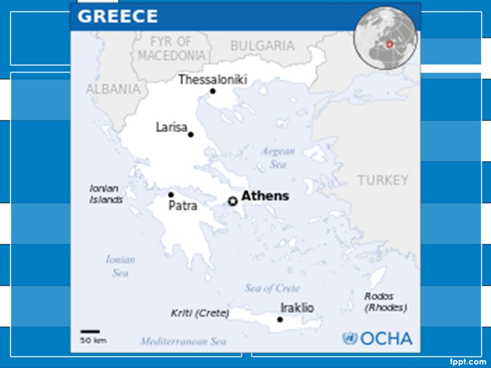 Greece is strategically located at the crossroads of Europe, Western Asia, and Africa, and shares land borders with Albania to the northwest, the Republic of Macedonia and Bulgaria to the north and Turkey to the northeast.