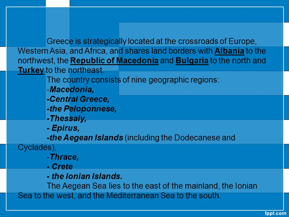 Capital and largest cityAthens 37°58′N 23°43′EAthens Official languages Greek Ethnic groups(2011) 91.6% Greek 4.4% Albanian 0.7% Bulgarian 3.3% others Government Unitary parliamentary constitutional republic President Karolos Papoulias - Prime Minister Antonis Samaras