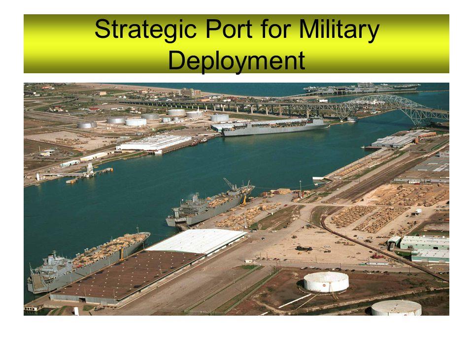 Strategic Port for Military Deployment